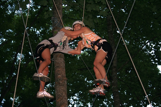 Camp Glisson High Elements Course: High Y