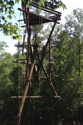 Alpine Tower Challenge Course