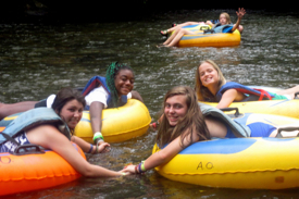Tubing on the Chestatee