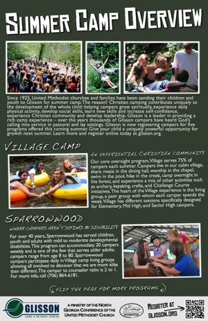 Glisson Summer Camp Program Overview