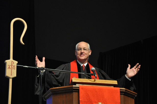 Bishops send pastors to their churches in the UMC
